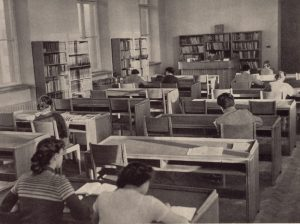 III Czytelnia Naukowa, 1957 r.