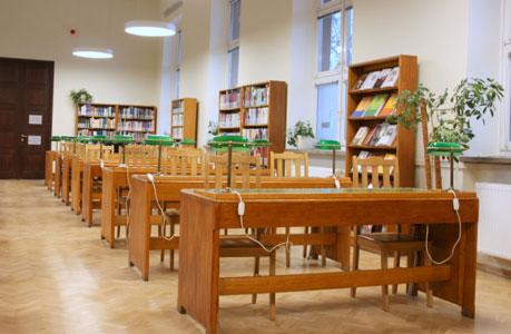 Sala III Czytelni Naukowej