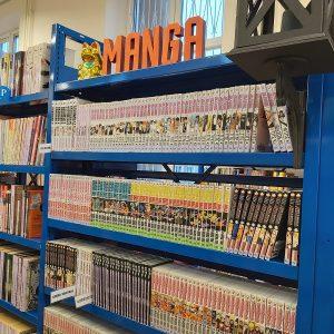 Manga w Bibliotece Komiksowo